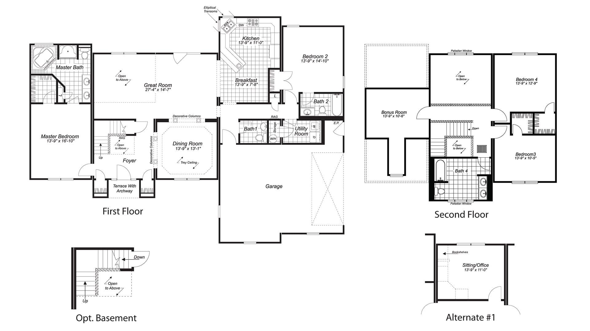 Birmingham Modular Floor Plan