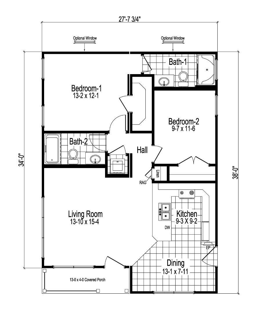 Craven Modular Home Floor Plan