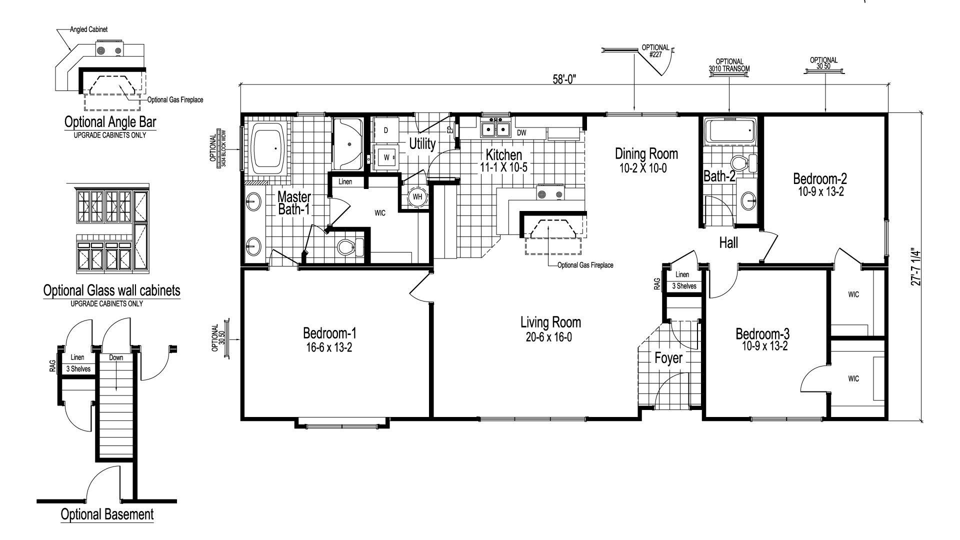 Mayberry I Modular Home Floor Plan