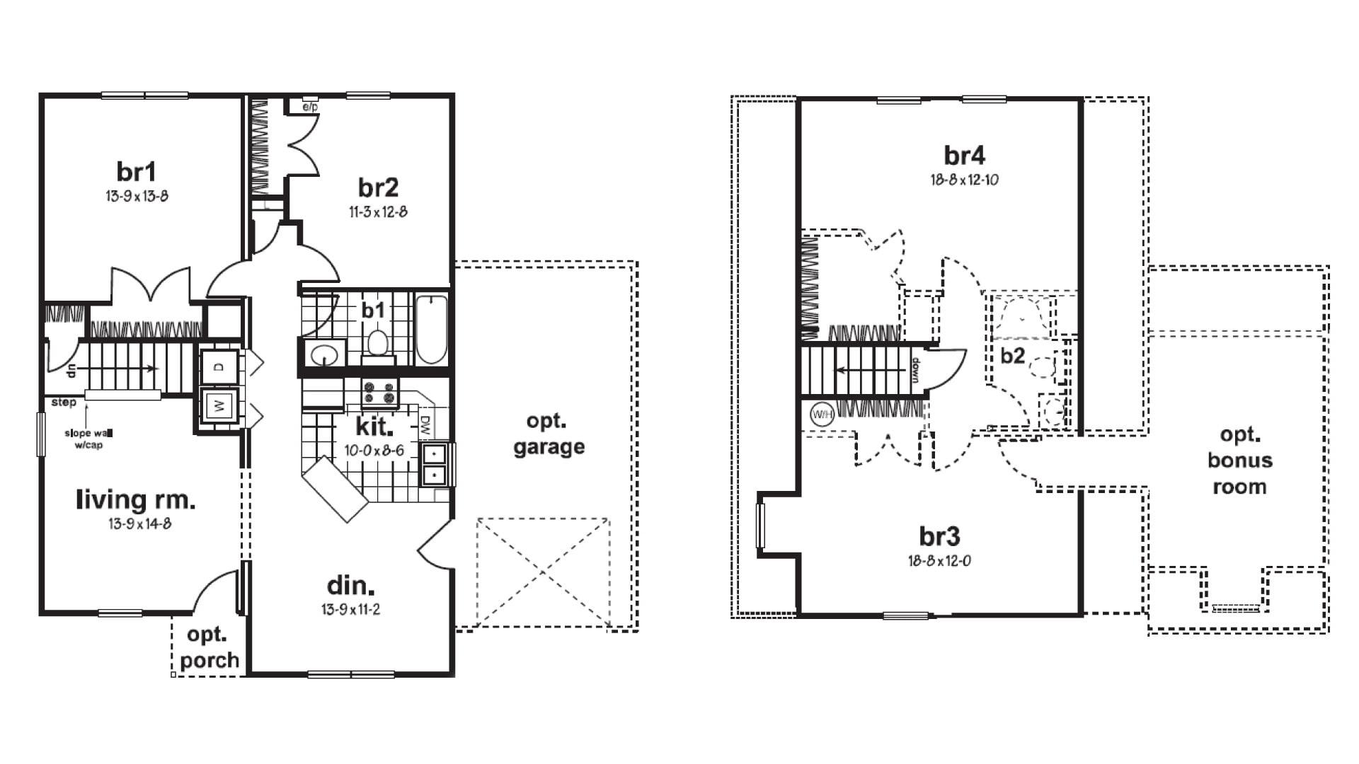 York Cape Cod Modular Home Floor Plan