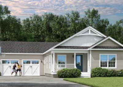 Nationwide Homes Modular HomeMainstreet Elite Brookdale Ranch Elevation B