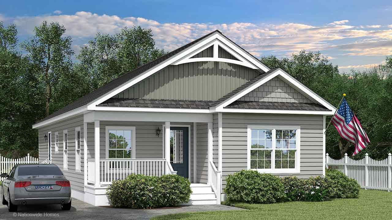 Nationwide Homes Modular HomeMainstreet Elite Brookdale Ranch Elevation A