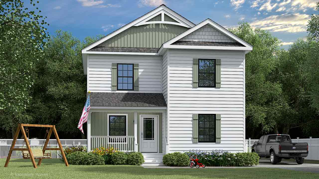 Nationwide Homes Modular Home Mainstreet Elite Chatham I Elevation A