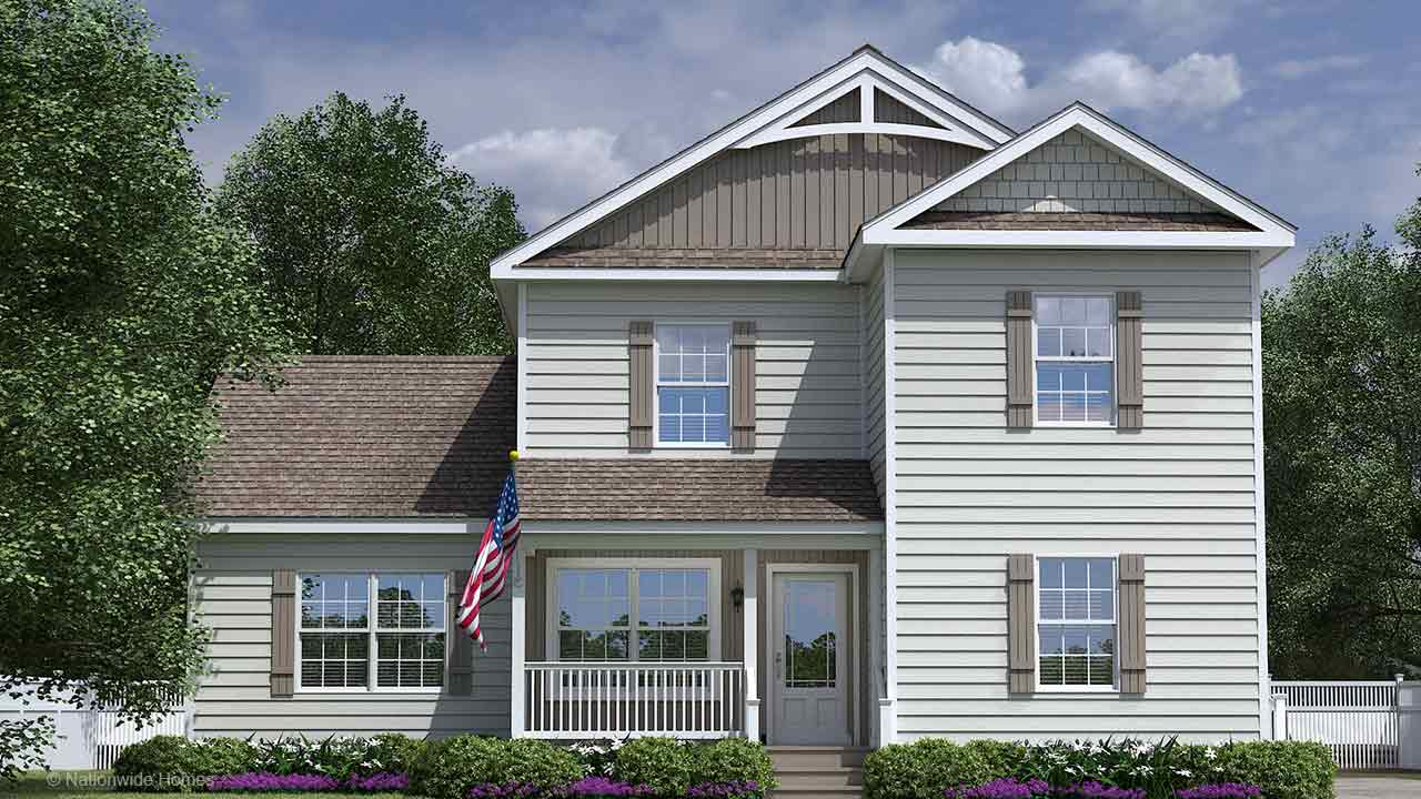 Nationwide Homes Modular Home Mainstreet Elite Chatham II Elevation A