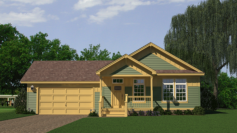 Nationwide Homes Copley Square Modular Home