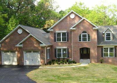 Nationwide Homes Birmingham model with brick exterior
