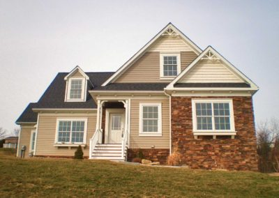 Nationwide Homes Calhoun model exterior