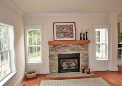 Nationwide Homes Calhoun model great room
