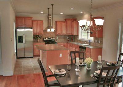 Nationwide Homes Calhoun model kitchen