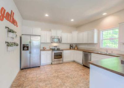 Nationwide Homes Dogwood model kitchen