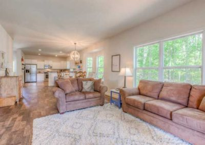 Nationwide Homes Dogwood model living room
