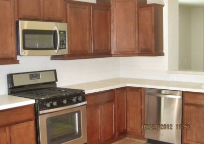 Nationwide Homes Gulfport model kitchen
