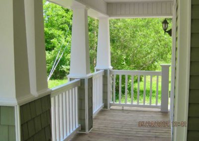 Nationwide Homes Gulfport model porch