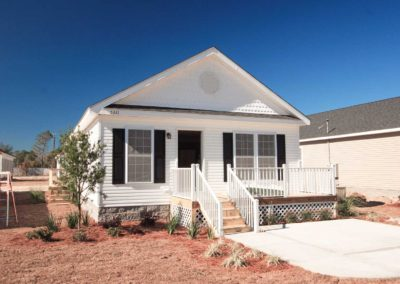 Nationwide Homes Kent model with white exterior